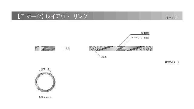【Z マーク】レイアウト リング